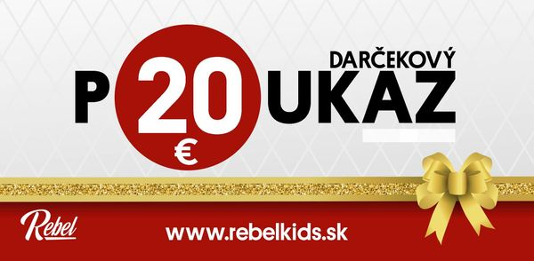 Darčeková poukážka v hodnote 20€